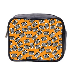 Pattern Halloween Wearing Costume Icreate Mini Toiletries Bag 2 Side