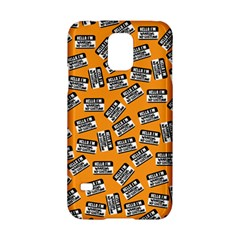 Pattern Halloween Wearing Costume Icreate Samsung Galaxy S5 Hardshell Case