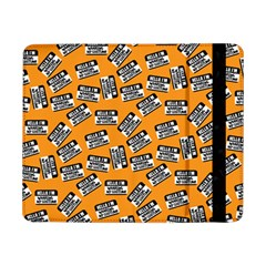 Pattern Halloween Wearing Costume Icreate Samsung Galaxy Tab Pro 8 4  Flip Case