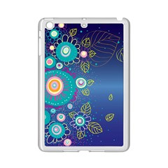 Flower Blue Floral Sunflower Star Polka Dots Sexy Ipad Mini 2 Enamel Coated Cases