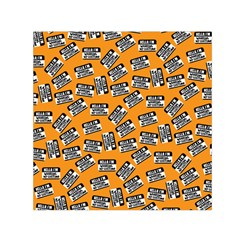 Pattern Halloween Wearing Costume Icreate Small Satin Scarf (square)