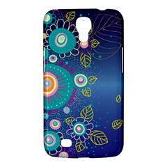 Flower Blue Floral Sunflower Star Polka Dots Sexy Samsung Galaxy Mega 6 3  I9200 Hardshell Case