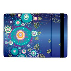 Flower Blue Floral Sunflower Star Polka Dots Sexy Samsung Galaxy Tab Pro 10 1  Flip Case