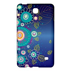 Flower Blue Floral Sunflower Star Polka Dots Sexy Samsung Galaxy Tab 4 (8 ) Hardshell Case