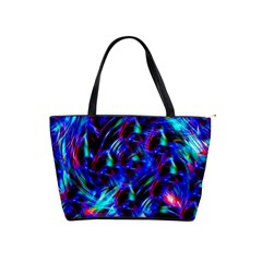 Dark Neon Stuff Blue Red Black Rainbow Light Shoulder Handbags