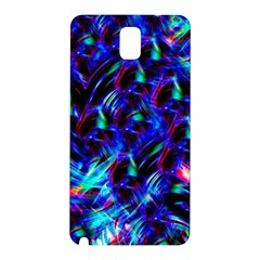 Dark Neon Stuff Blue Red Black Rainbow Light Samsung Galaxy Note 3 N9005 Hardshell Back Case