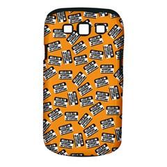 Pattern Halloween  Samsung Galaxy S Iii Classic Hardshell Case (pc+silicone)