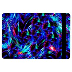 Dark Neon Stuff Blue Red Black Rainbow Light Ipad Air 2 Flip