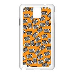 Pattern Halloween  Samsung Galaxy Note 3 N9005 Case (white)