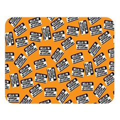Pattern Halloween  Double Sided Flano Blanket (large)