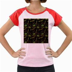 Pattern Halloween Witch Got Candy? Icreate Women s Cap Sleeve T Shirt