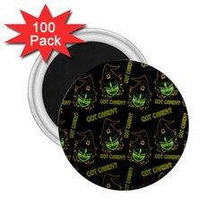 Pattern Halloween Witch Got Candy? Icreate 2 25  Magnets (100 Pack)