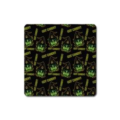 Pattern Halloween Witch Got Candy? Icreate Square Magnet