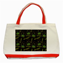 Pattern Halloween Witch Got Candy? Icreate Classic Tote Bag (red)