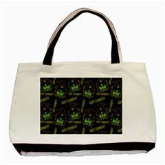 Pattern Halloween Witch Got Candy? Icreate Basic Tote Bag (two Sides)