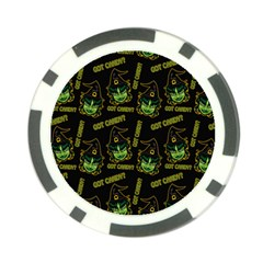 Pattern Halloween Witch Got Candy? Icreate Poker Chip Card Guard