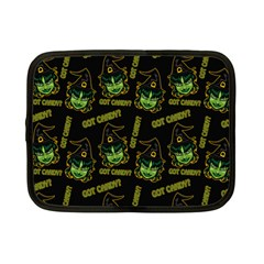 Pattern Halloween Witch Got Candy? Icreate Netbook Case (small)