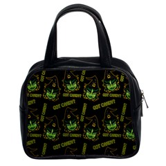 Pattern Halloween Witch Got Candy? Icreate Classic Handbags (2 Sides)