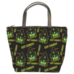 Pattern Halloween Witch Got Candy? Icreate Bucket Bags