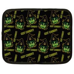 Pattern Halloween Witch Got Candy? Icreate Netbook Case (xxl)