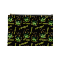 Pattern Halloween Witch Got Candy? Icreate Cosmetic Bag (large)