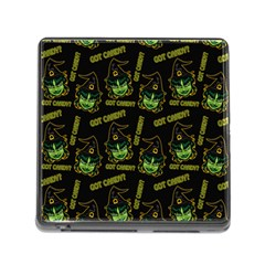 Pattern Halloween Witch Got Candy? Icreate Memory Card Reader (square)