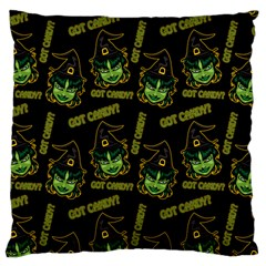 Pattern Halloween Witch Got Candy? Icreate Large Cushion Case (one Side)