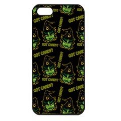 Pattern Halloween Witch Got Candy? Icreate Apple Iphone 5 Seamless Case (black)