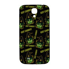 Pattern Halloween Witch Got Candy? Icreate Samsung Galaxy S4 I9500/i9505  Hardshell Back Case