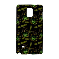 Pattern Halloween Witch Got Candy? Icreate Samsung Galaxy Note 4 Hardshell Case