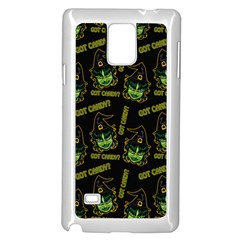 Pattern Halloween Witch Got Candy? Icreate Samsung Galaxy Note 4 Case (white)