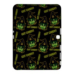 Pattern Halloween Witch Got Candy? Icreate Samsung Galaxy Tab 4 (10 1 ) Hardshell Case