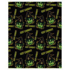 Pattern Halloween Witch Got Candy? Icreate Drawstring Bag (small)