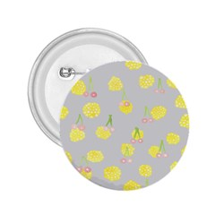 Cute Fruit Cerry Yellow Green Pink 2 25  Buttons