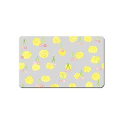 Cute Fruit Cerry Yellow Green Pink Magnet (name Card)