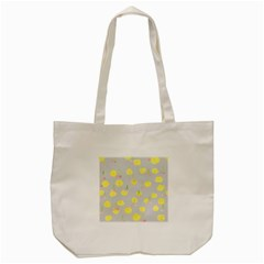 Cute Fruit Cerry Yellow Green Pink Tote Bag (cream)