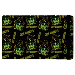 Pattern Halloween Witch Got Candy? Icreate Apple Ipad Pro 9 7   Flip Case