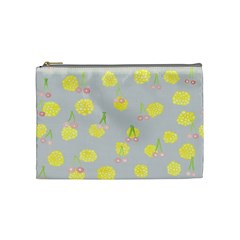 Cute Fruit Cerry Yellow Green Pink Cosmetic Bag (medium)