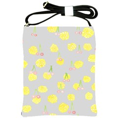 Cute Fruit Cerry Yellow Green Pink Shoulder Sling Bags