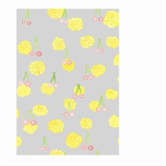 Cute Fruit Cerry Yellow Green Pink Large Garden Flag (two Sides)