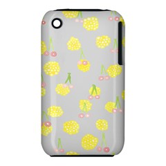 Cute Fruit Cerry Yellow Green Pink Iphone 3s/3gs