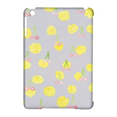 Cute Fruit Cerry Yellow Green Pink Apple Ipad Mini Hardshell Case (compatible With Smart Cover)