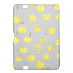 Cute Fruit Cerry Yellow Green Pink Kindle Fire Hd 8 9