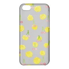 Cute Fruit Cerry Yellow Green Pink Apple Iphone 5c Hardshell Case