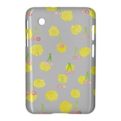 Cute Fruit Cerry Yellow Green Pink Samsung Galaxy Tab 2 (7 ) P3100 Hardshell Case