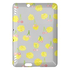 Cute Fruit Cerry Yellow Green Pink Kindle Fire Hdx Hardshell Case