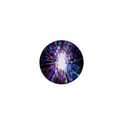 Seamless Animation Of Abstract Colorful Laser Light And Fireworks Rainbow 1  Mini Buttons