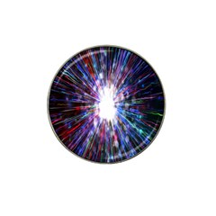 Seamless Animation Of Abstract Colorful Laser Light And Fireworks Rainbow Hat Clip Ball Marker (4 Pack)