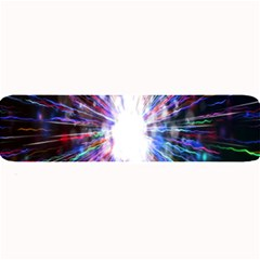 Seamless Animation Of Abstract Colorful Laser Light And Fireworks Rainbow Large Bar Mats