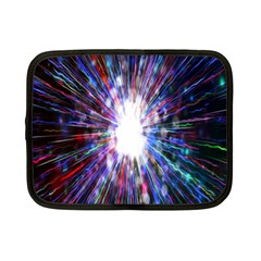 Seamless Animation Of Abstract Colorful Laser Light And Fireworks Rainbow Netbook Case (small)